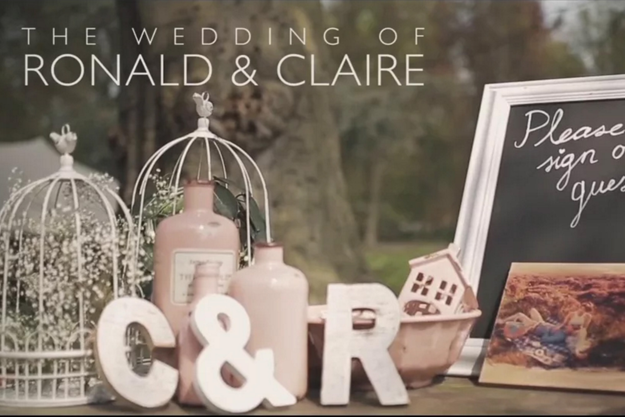 Ronald & Claire Video